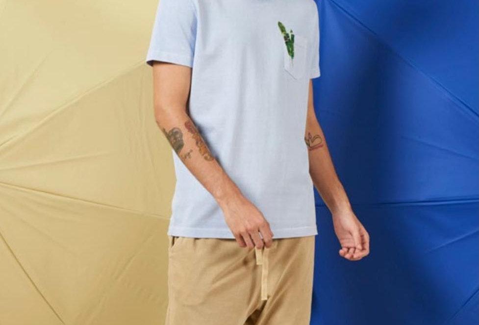 T-Shirt Pocket Bananeira Osklen