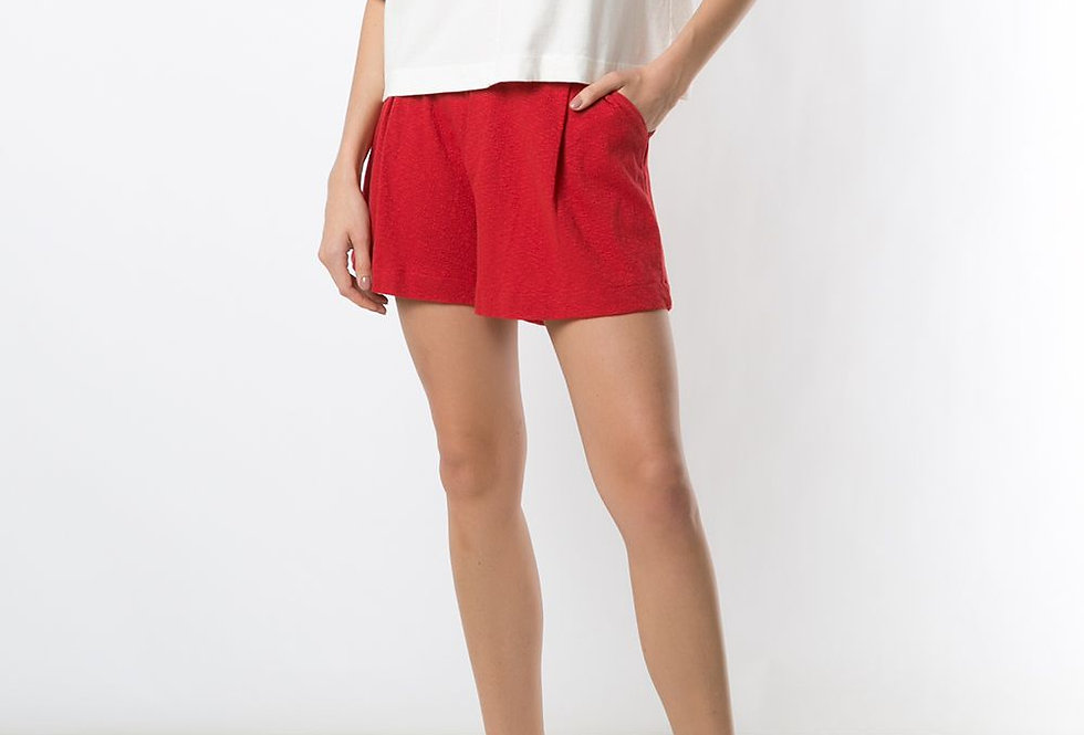 Blusa Cropped com Listras - Osklen