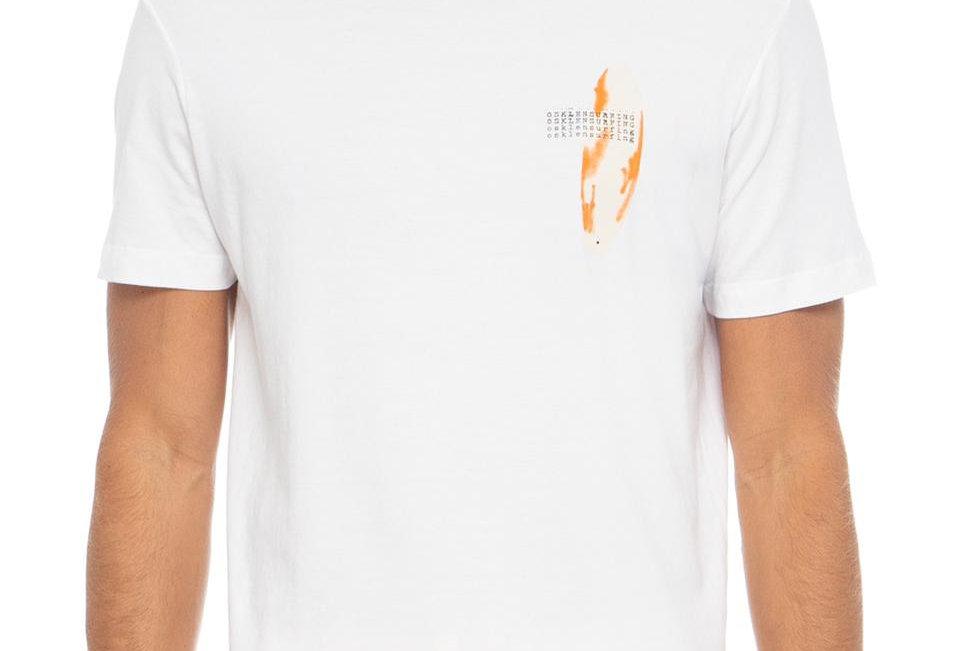 T-Shirt Stone Orange Board Osklen