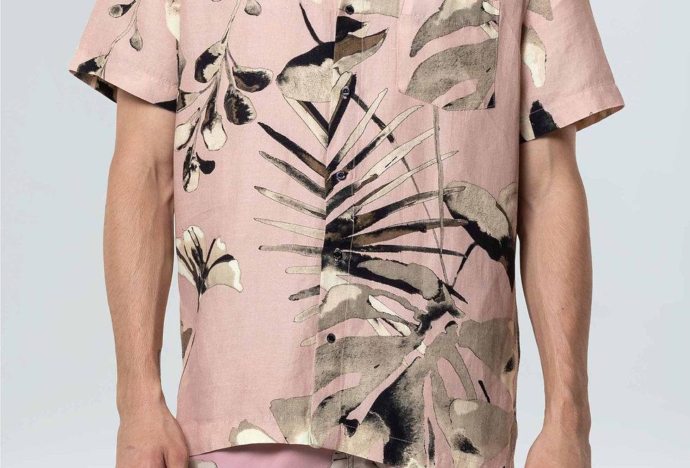 Camisa Masculina Osklen Oil Blush Mc
