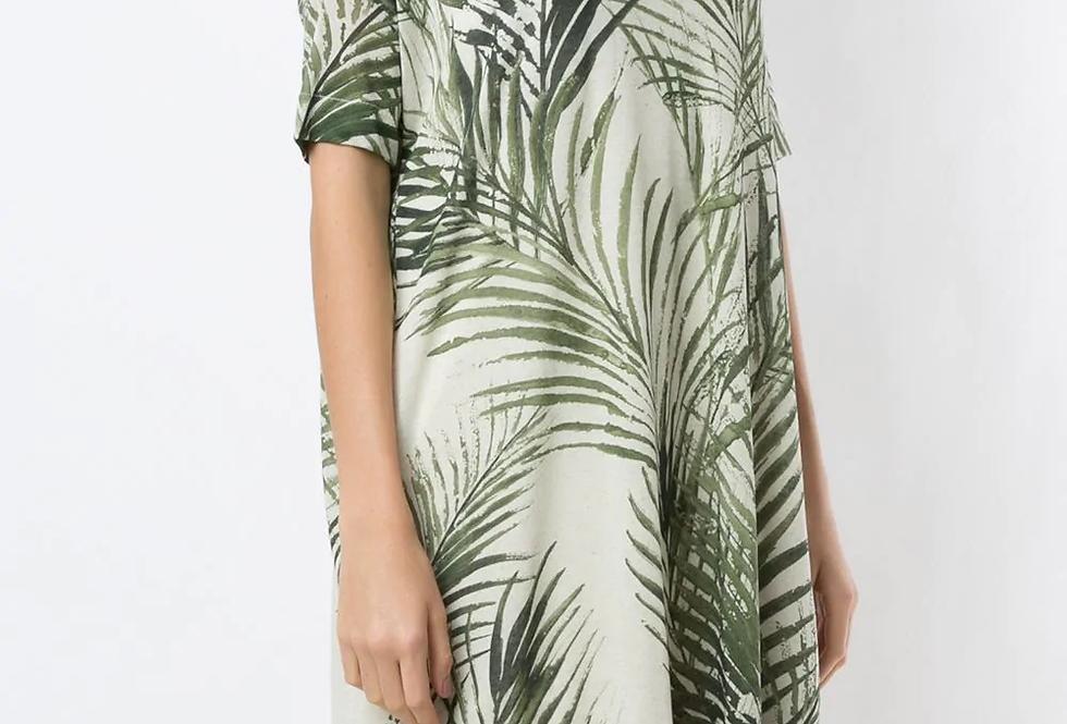 Vestido Palm leaf light Eco Osklen
