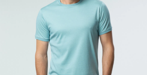 Camiseta Oxford Gola Chanfrada - Ricardo Almeida