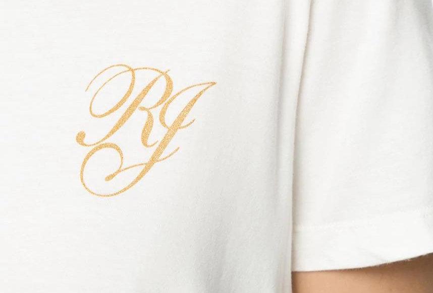 T-Shirt RJ Gold Crop Osklen