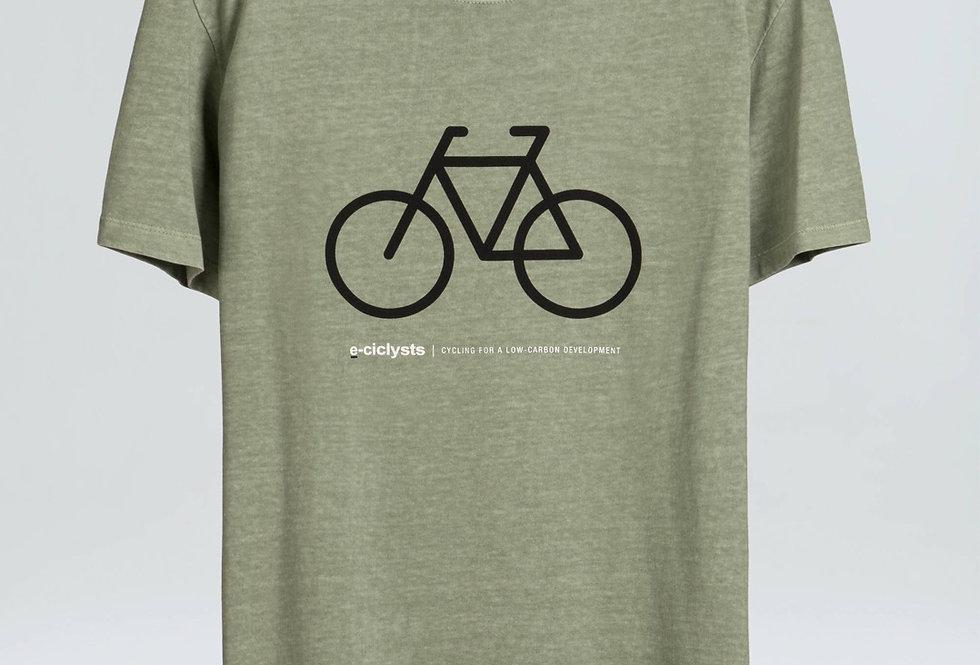 T-shirt Osklen Stone e Cyclists