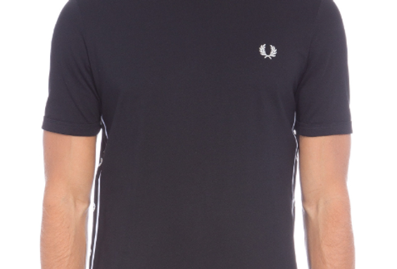 T-Shirt Fred Perry Chest - Preto