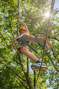 Acrobranche à Treignac pour les enfants et les adultes. Infos à la Satation sports Nature de Treignac Vézère-Monédières