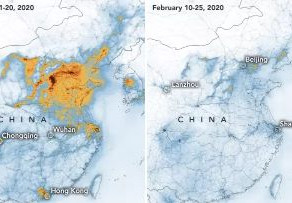Empty streets causes reduction in pollution In China Because Of Coronavirus.