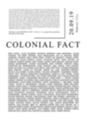 Amanda Lydert. Colonial Fact, Baboon City, Julie Sophie Koldby