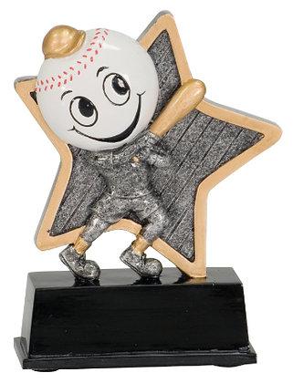 Baseball Little Pal Resin Trophy