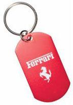 Dog Tag Keychain