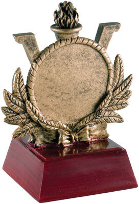 Victory Torch Resin Trophy