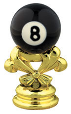 "2 5/8"" 8-Ball Billiards Trim"