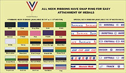 """7/8"""" Neck Ribbon with Snap Clip"""