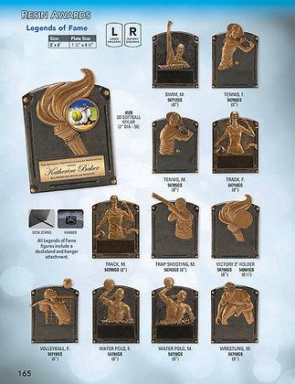 Legends of Fame - Resin Award