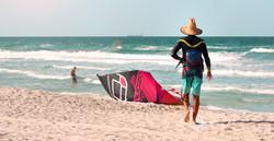 chapeau kite bateau
