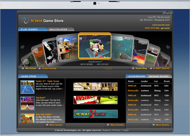 Novena Game Launcher