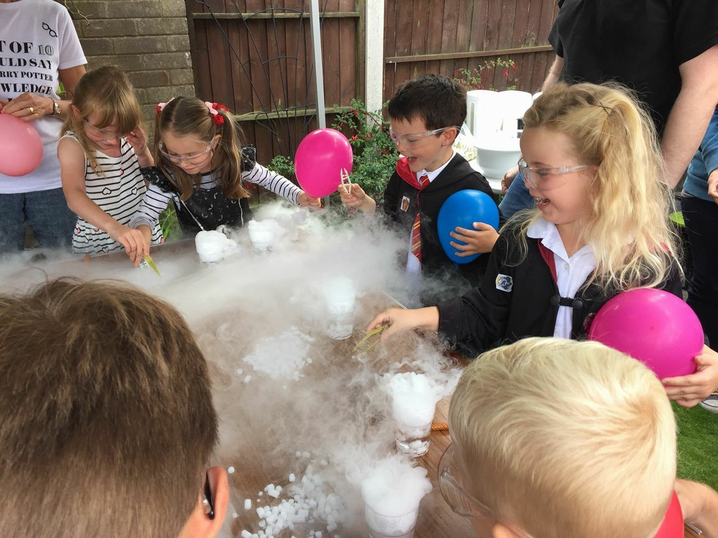 Bubbling potions & bath bombs-2 hr party