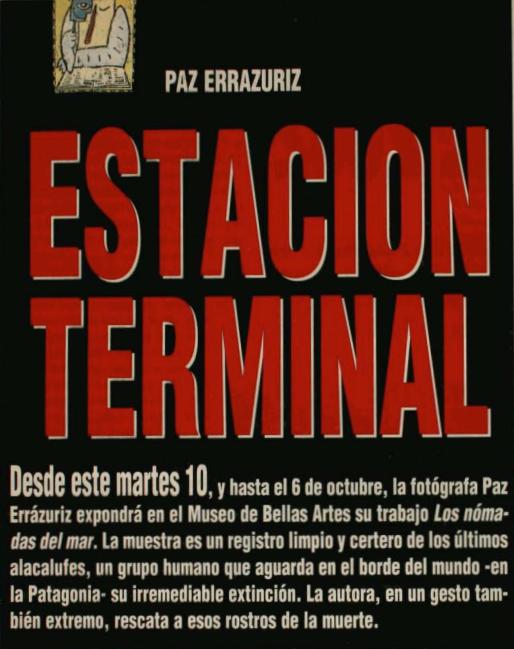 Paz Errázuriz_Revista Hoy_Barbarie