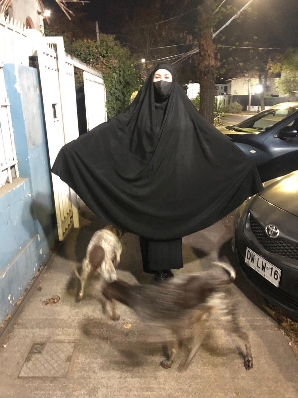 Experiencia burka_Silvia Veloso_Saposcat revista