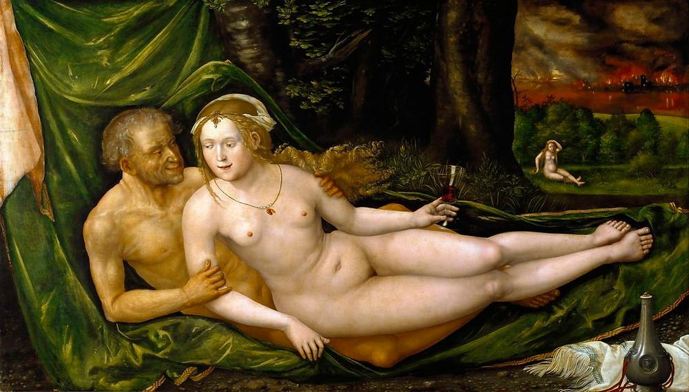 La pintura pervertida (I)_Pablo Salinas_ALBRECHT ALTDORFER - LOT Y SUS HIJAS (1537)