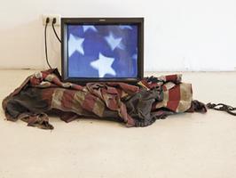 Cielo americano, 2015. Film escultura. Enrique Ramírez.