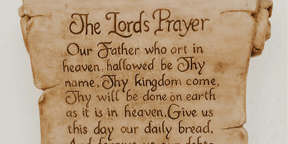 Contemplation on the Lord's Prayer: One-Day Retreat