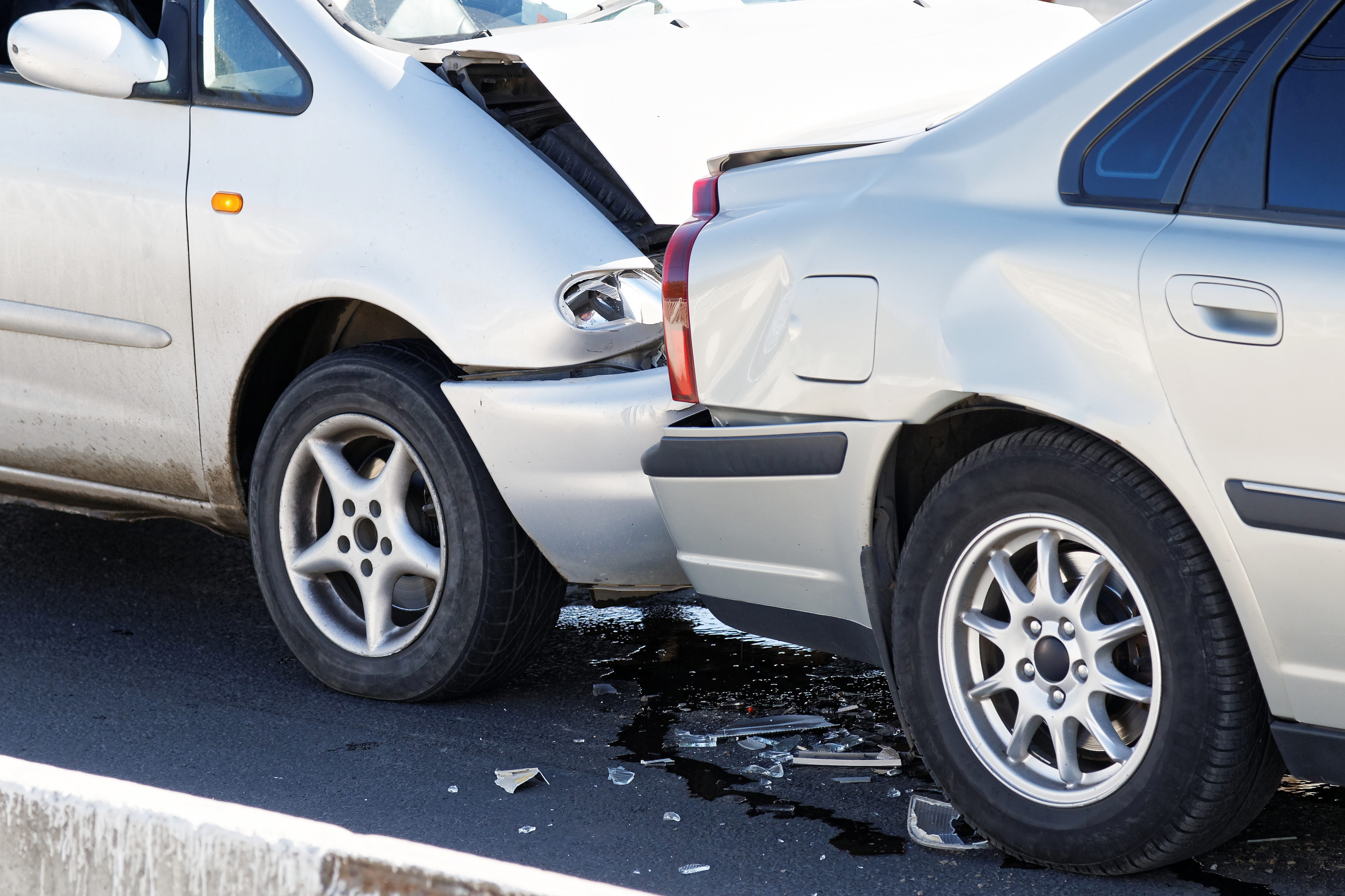 Rear-end crashes can cause injury.