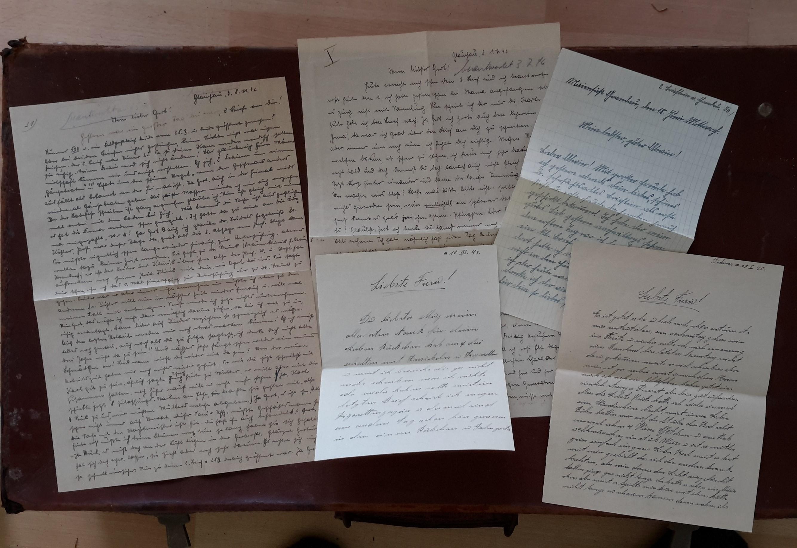 German letters