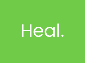 What can we do as a family? Heal.