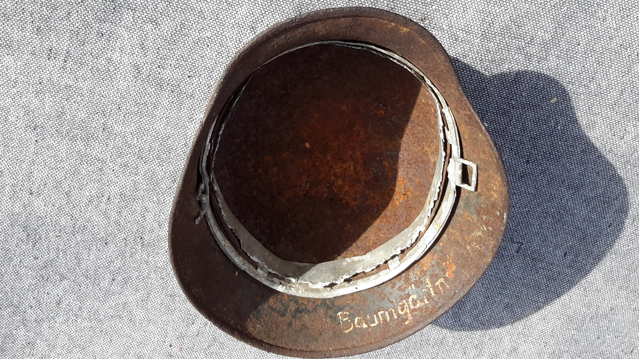 German Helmet Inner