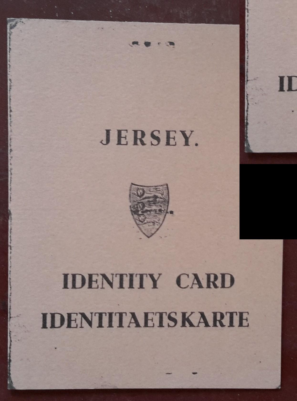 Jersey ID Card