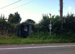 ARP Warden's Post Bus Shelter - Isle of Wight