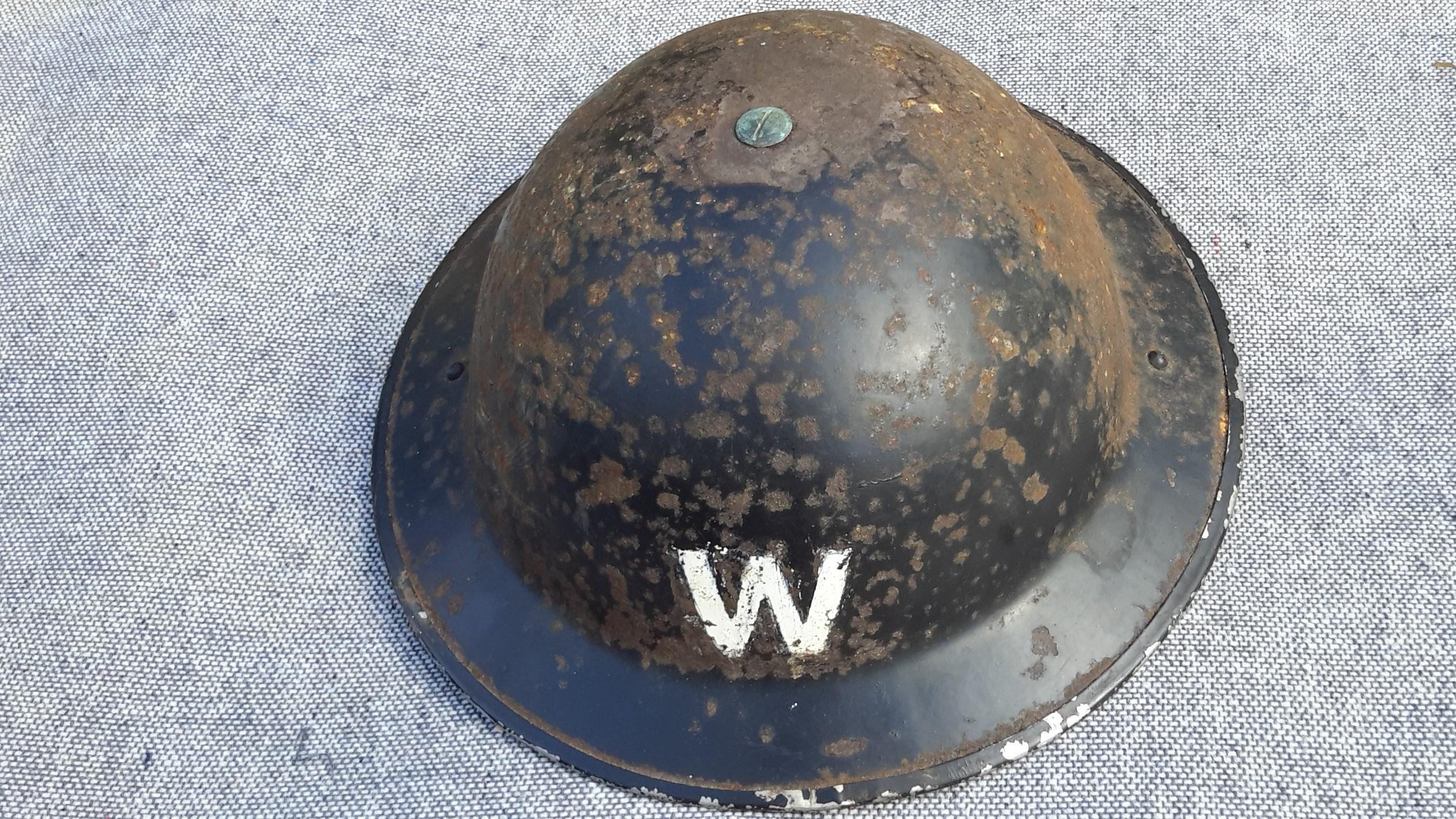 ARP Warden's Helmet