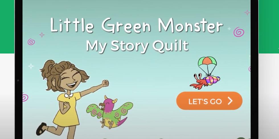 My Story Quilt / Glitter Jar
