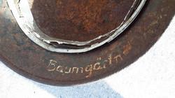 German Helmet Inner Name stamp