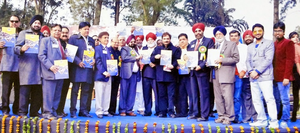 WBO celebrated its annual World Brotherhood Day launch of souvenir coverage by Dwarka Parichay