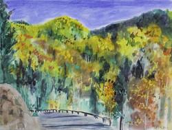 Big Tesuque Canyon View