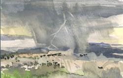 Storm Near Arches Natl Park
