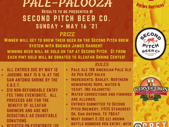 Pale-Palooza, register now!