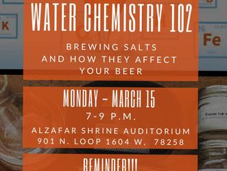 Water Chemistry 102