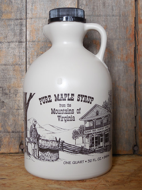 "Pure Maple Syrup(Grade ""A"" Dark Robust) - Quart"