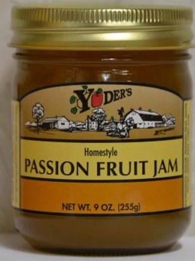 Homestyle Passion Fruit Jam - 1/2 pint