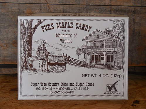 Soft Pure Maple Candy - 4 oz.