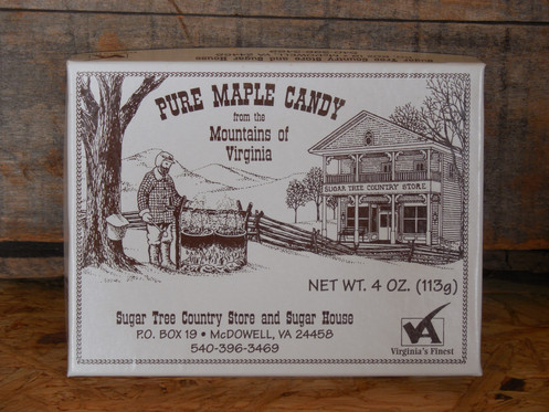 Soft Pure Maple Candy - 4 oz