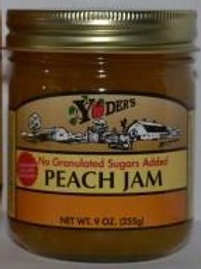 Homestyle Naturally Sweetened Peach Jam - 1/2 pint