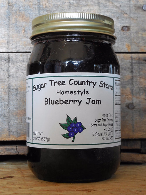 Homestyle Blueberry Jam - Pint