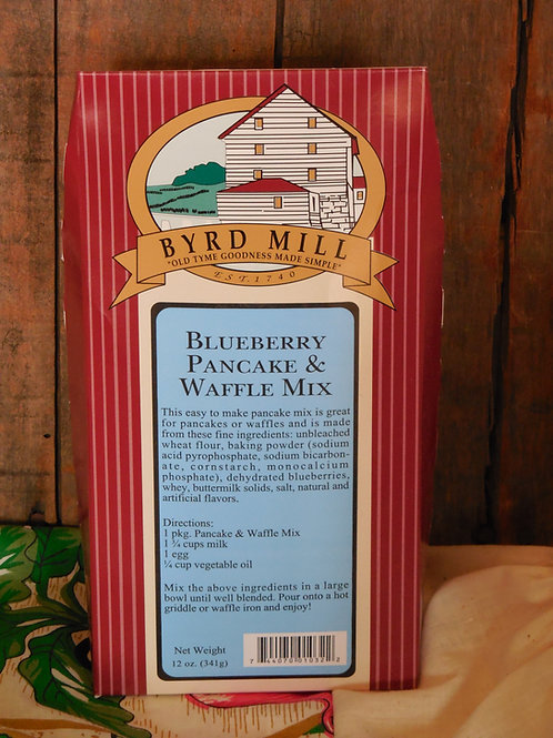 Blueberry Pancake & Waffle Mix - 12 oz.