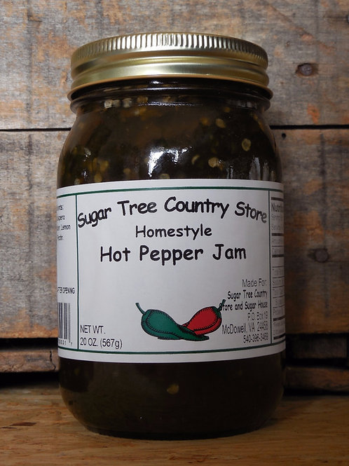 Homestyle Hot Pepper Jam - Pint