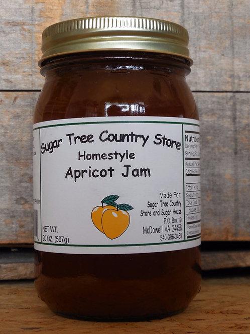 Homestyle Apricot Jam - Pint