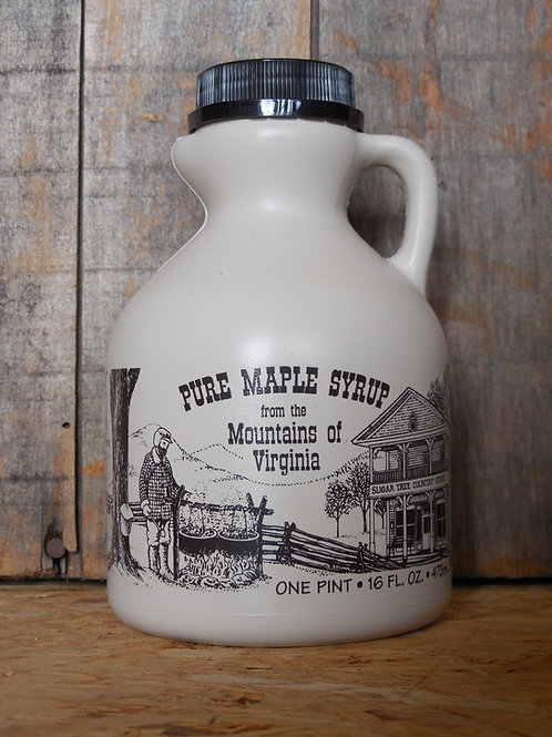 "Pure Maple Syrup(Grade ""A"" Dark Robust) - Pint"